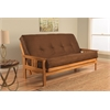 Monterey Frame/Butternut Finish/Suede Chocolate Mattress