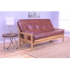 Monterey Frame/Butternut Finish/Oregon Trail Saddle Mattress