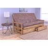 Monterey Frame/Butternut Finish/Palance Silt Mattress/Storage Drawers