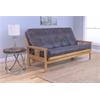 Monterey Frame/Butternut Finish/Palance Steel  Mattress