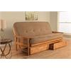 Monterey Frame/Butternut Finish/Tantra Chanterelle Mattress/Storage Drawers