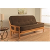 Monterey Frame/Butternut Finish/Tantra Espresso Mattress