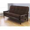 Monterey Frame/Espresso Finish/Suede Chocolate Mattress