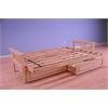 Monterey Frame/Natural Finish/Storage Drawers