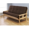 Monterey Frame/Natural Finish/Suede Chocolate Mattress