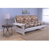 Phoenix Frame/Antique White Finish/Canadian Mattress