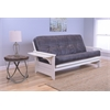 Phoenix Frame/Antique White Finish/Palance Steel Mattress