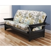 Phoenix Frame/Black Finish/English Garden Mattress