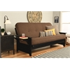 Phoenix Frame-Black Finish-Linen Cocoa Mattress