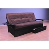 Phoenix Frame/Black Finish/Palance Sable Mattress/Storage Drawers