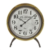 Retro Metal Table Clock