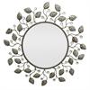 Round Metal Vine Mirror