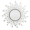 Starburst Jewel Mirror - Black Metal