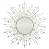 Starburst Jeweled Mirror - Champagne
