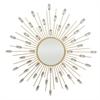 Starburst Jeweled Mirror - Rose Gold