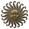 Metal Sun Wall Sculpture