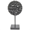 Resin Spiked Tabletop Decor - Black