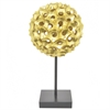 Resin Spiked Tabletop Decor - Gold