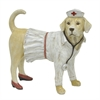 Nurse Dog Figurine