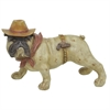 Cowboy Dog Figurine