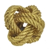 Rope Knot Dcor - Gold
