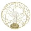 Metal Led Lamp - Gold