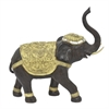 Resin Ornate Elephant Decoration