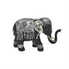 Resin Ornate Elephant Decoration