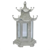 Pagoda Lanern- Antiq White