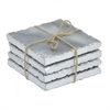 Marble Coaster S/4 - Silver Ed