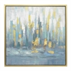 Abstract Painting Framed- Oil On Canvas