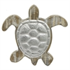 Wood/Metal Wall Turtle