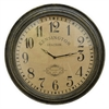Wall Clock With Kensington Station Clock Face And Wood Frame