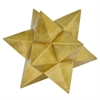 Star Orb Table Top Dcor - Gold