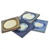 Ceramic Coaster S /4 Assorted