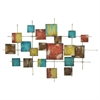 Geometric Metal Wall Decoration - Multi Color