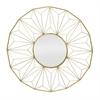 Gold Metal Decorative Mirror