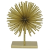Decorative Urchin W/Base - Gold