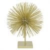 Decorative Urchin W/Base - Gold