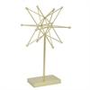 Decorative Star W/Base - Gold