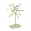Decorative Star W/Base - Gold