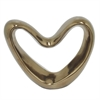 Heart Shaped Table Top Ceramic Scuplture