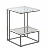 "Accent Table H23.50"", Lexi Clear"