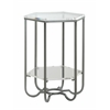 """Accent Table H28.00"""", Lexi Clear"""