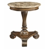 """Accent Table H28.00"""", Brown"""