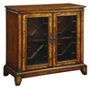 "Two Door Cabinet H35.00"", Brown"