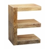 """E Chairside Table H28.00"""", Natural"""