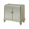 """Two Door Chest H30.00"""", Champagne Dazzle"""