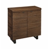 "Two Door Cabinet H34.00"", DeWitt Rustic Brown"