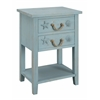 """Two Drawer Chest H26.00"""", Breakers Blue Rub"""